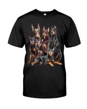 Doberman Pinscher Five Classic T-Shirt thumbnail
