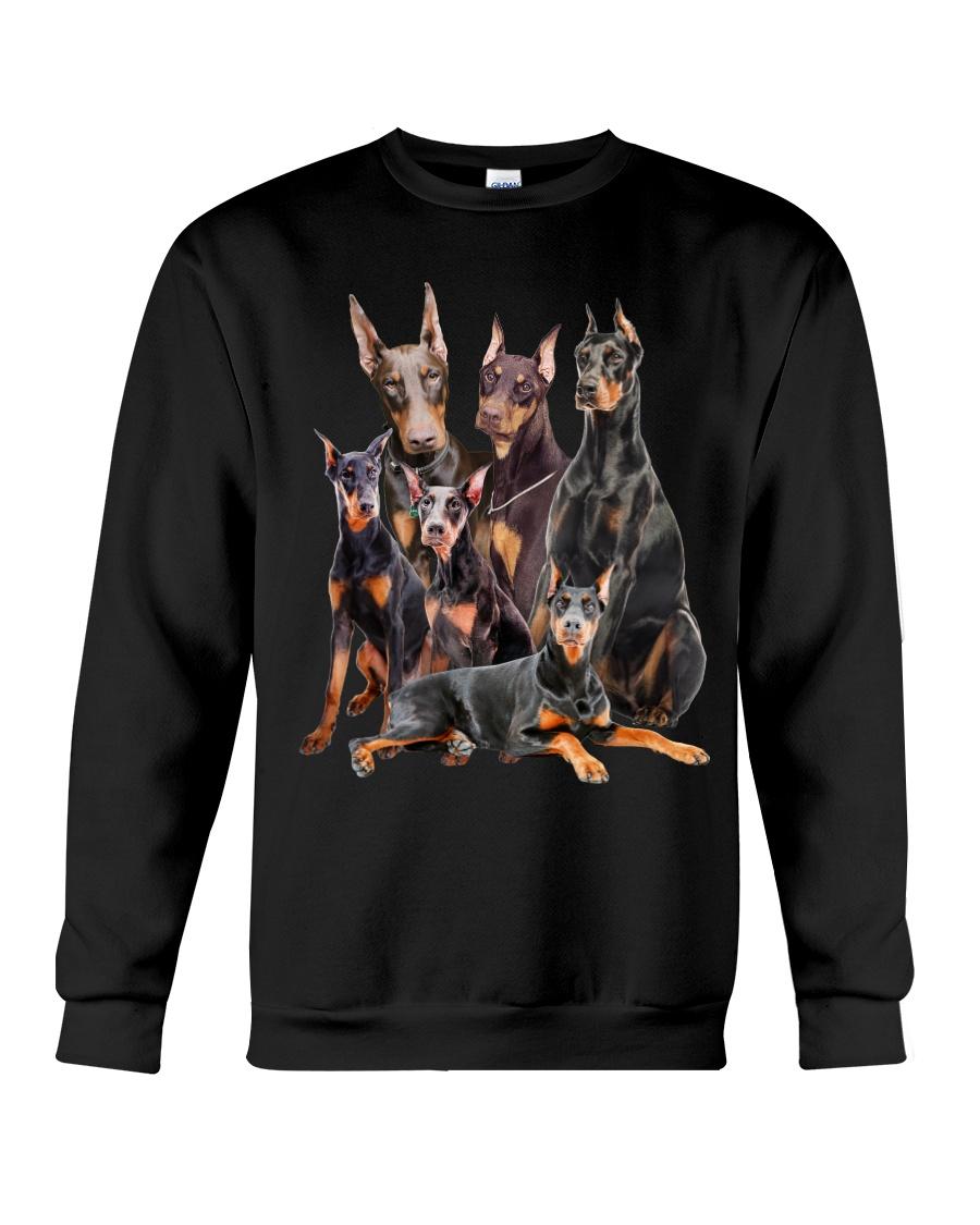 Doberman Pinscher Five Crewneck Sweatshirt