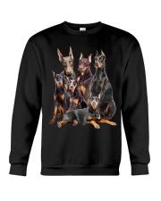 Doberman Pinscher Five Crewneck Sweatshirt front