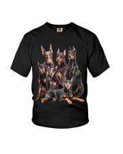 Doberman Pinscher Five Youth T-Shirt thumbnail