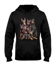 Doberman Pinscher Five Hooded Sweatshirt thumbnail