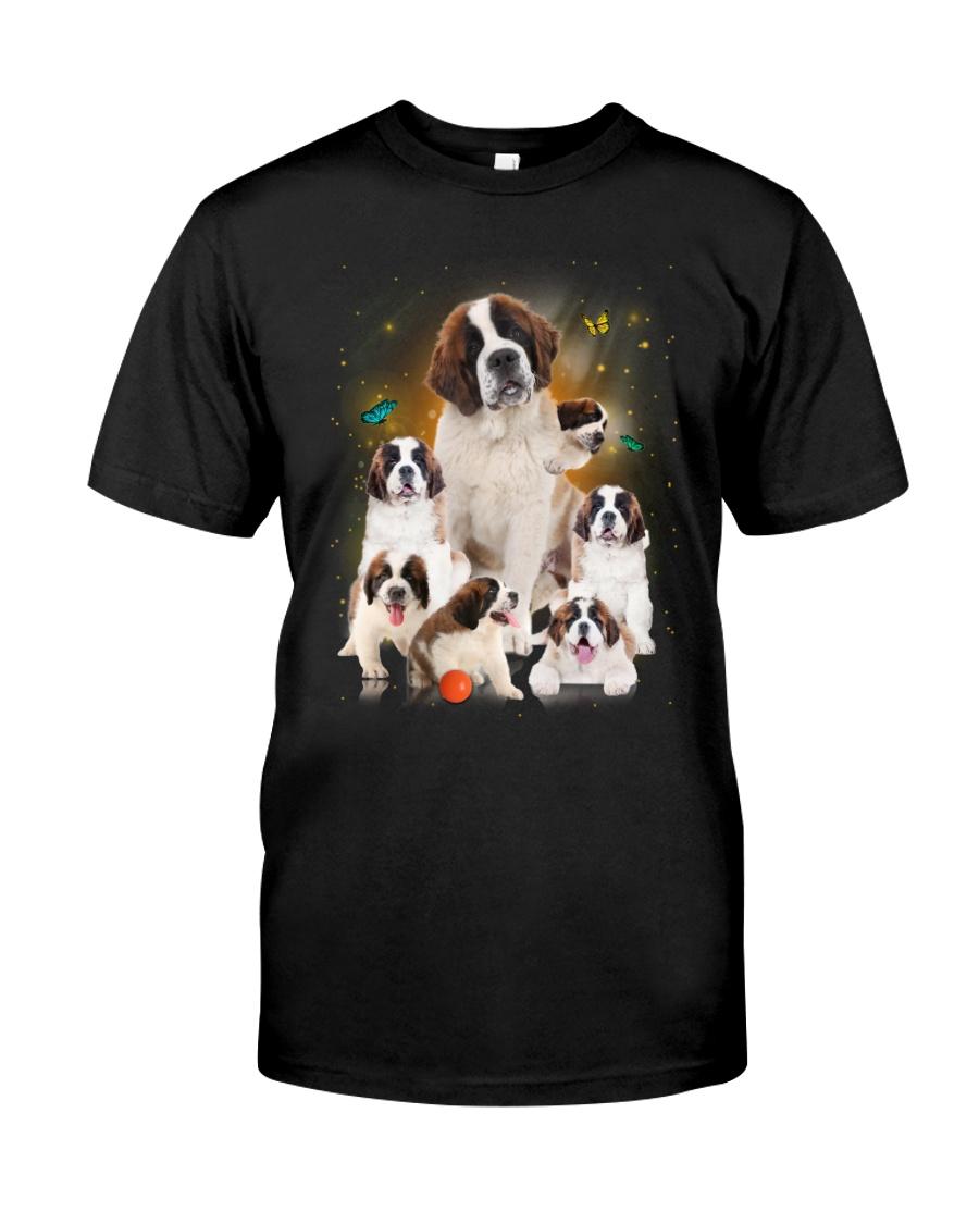 GAEA - Saint Bernard Smile 0904 Classic T-Shirt