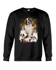 GAEA - Saint Bernard Smile 0904 Crewneck Sweatshirt thumbnail