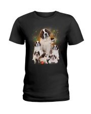 GAEA - Saint Bernard Smile 0904 Ladies T-Shirt thumbnail