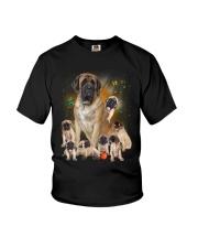 GAEA - English Mastiff Smile 1204 Youth T-Shirt thumbnail