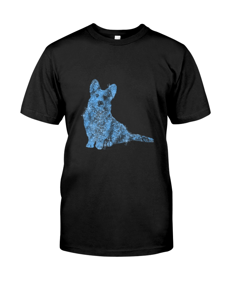 Cardigan Welsh Corgi Bling 1303 Classic T-Shirt