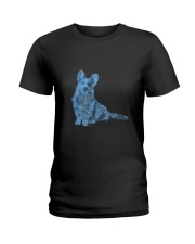 Cardigan Welsh Corgi Bling 1303 Ladies T-Shirt thumbnail