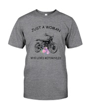 Motorcycles Love Woman 2104 Classic T-Shirt front
