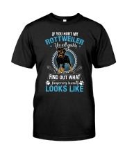 Rottweiler Looks Classic T-Shirt front