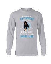 Rottweiler Looks Long Sleeve Tee thumbnail