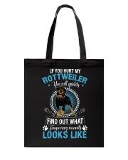 Rottweiler Looks Tote Bag thumbnail