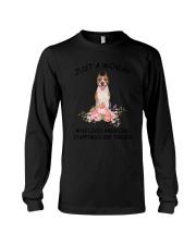 American Staffordshire Terrier Love Woman 2104 Long Sleeve Tee thumbnail