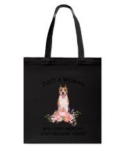 American Staffordshire Terrier Love Woman 2104 Tote Bag thumbnail