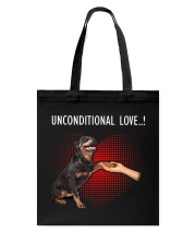 Rottweiler Unconditional Tote Bag thumbnail