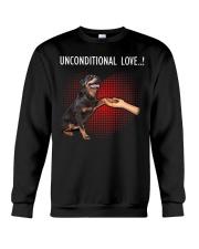Rottweiler Unconditional Crewneck Sweatshirt thumbnail