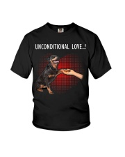 Rottweiler Unconditional Youth T-Shirt thumbnail