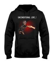 Rottweiler Unconditional Hooded Sweatshirt thumbnail