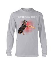 Rottweiler Unconditional Long Sleeve Tee thumbnail