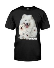 Samoyed Awesome Classic T-Shirt front