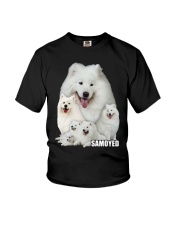 Samoyed Awesome Youth T-Shirt thumbnail