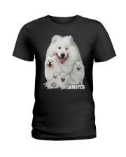 Samoyed Awesome Ladies T-Shirt thumbnail