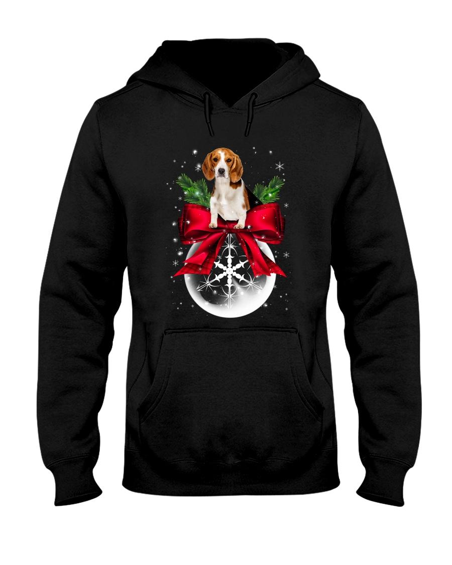 NYX - Beagle Noel - 0510 - B2 Hooded Sweatshirt