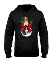 NYX - Beagle Noel - 0510 - B2 Hooded Sweatshirt front