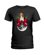 NYX - Beagle Noel - 0510 - B2 Ladies T-Shirt thumbnail