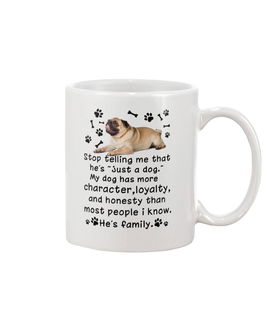 Pug My Family 2905 Mug