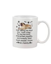 Pug My Family 2905 Mug front