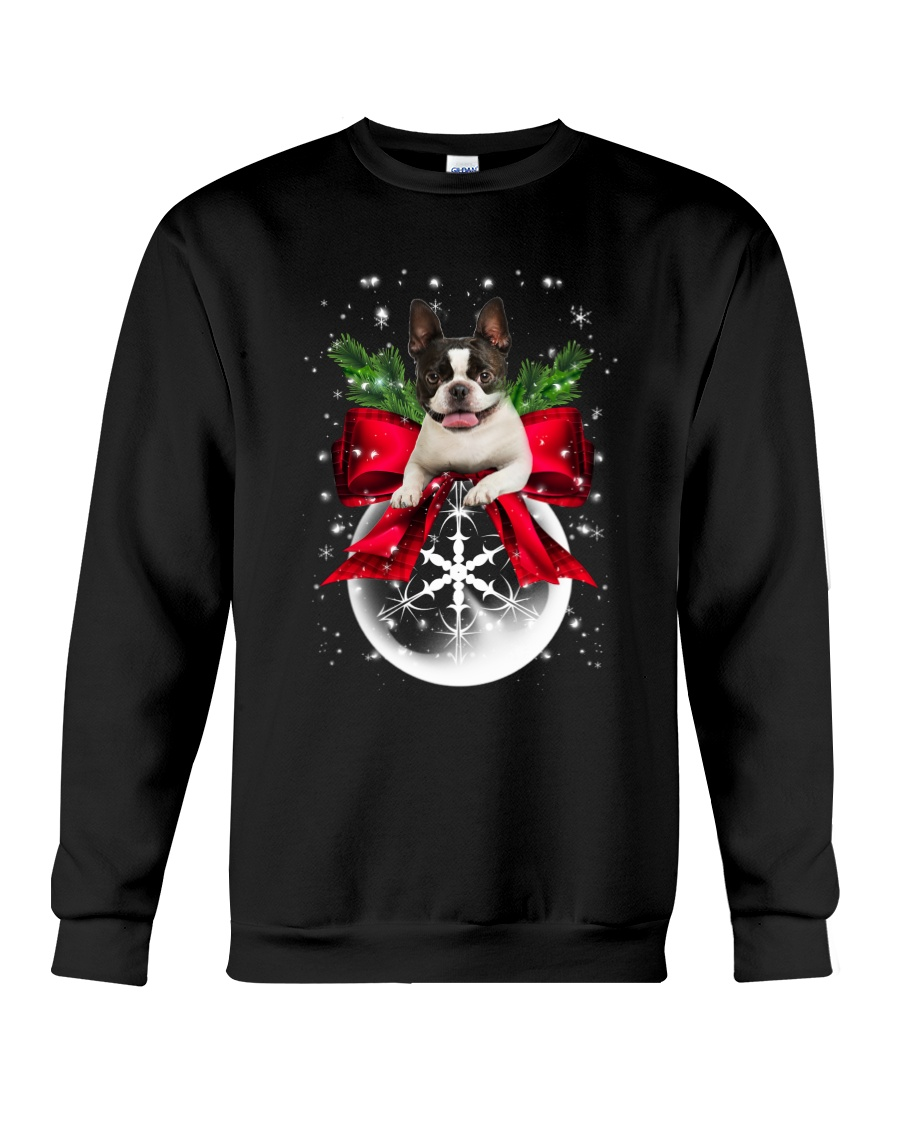 NYX - Boston Terrier Xmas - 0610 Crewneck Sweatshirt