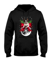NYX - Boston Terrier Xmas - 0610 Hooded Sweatshirt thumbnail