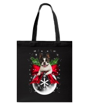 NYX - Boston Terrier Xmas - 0610 Tote Bag thumbnail