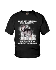 Wolf Dont Cry 0706 Youth T-Shirt thumbnail