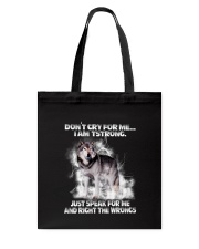 Wolf Dont Cry 0706 Tote Bag thumbnail