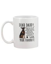 Miniature Pinscher Daddy Favorite 2105 Mug back