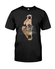 Pug Dreaming Classic T-Shirt front