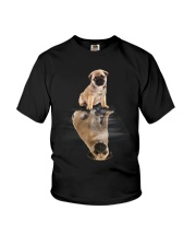Pug Dreaming Youth T-Shirt thumbnail