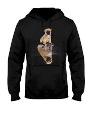 Pug Dreaming Hooded Sweatshirt thumbnail