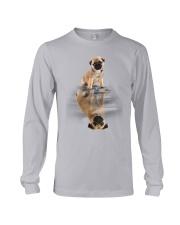 Pug Dreaming Long Sleeve Tee thumbnail