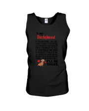 Dachshund Will Be There 0606 Unisex Tank thumbnail