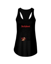 Dachshund Will Be There 0606 Ladies Flowy Tank thumbnail