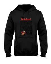 Dachshund Will Be There 0606 Hooded Sweatshirt thumbnail
