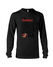 Dachshund Will Be There 0606 Long Sleeve Tee thumbnail