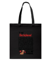 Dachshund Will Be There 0606 Tote Bag thumbnail