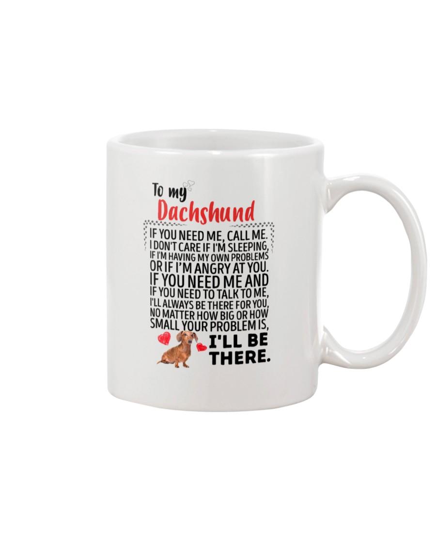 Dachshund Will Be There 0606 Mug