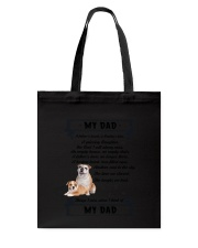 Bulldog My Dad 0506 Tote Bag thumbnail