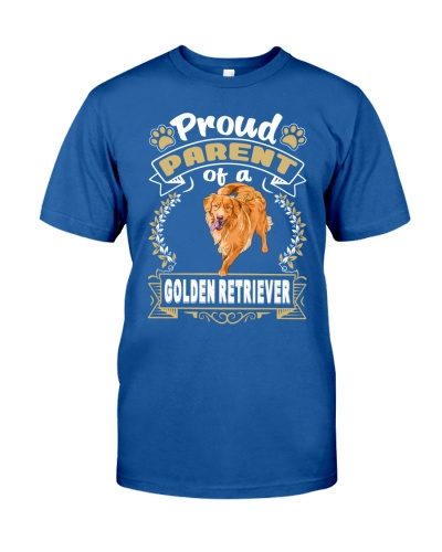 Golden Retriever Proud
