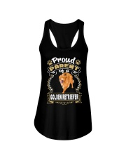 Golden Retriever Proud Ladies Flowy Tank thumbnail
