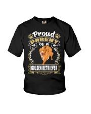 Golden Retriever Proud Youth T-Shirt thumbnail